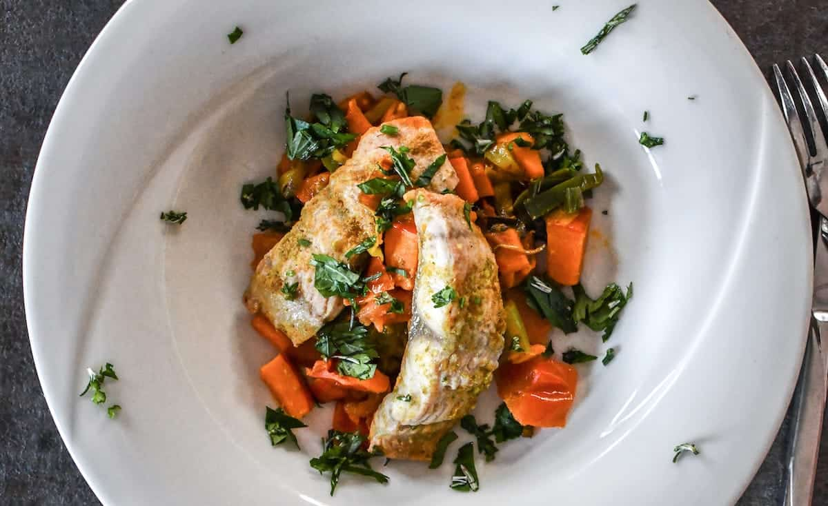 Baked Fish With Vegetables 1