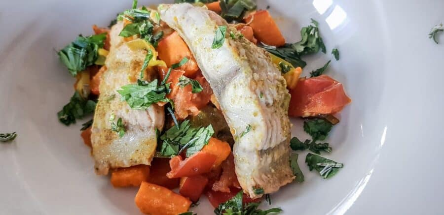 Baked Fish With Vegetables 2